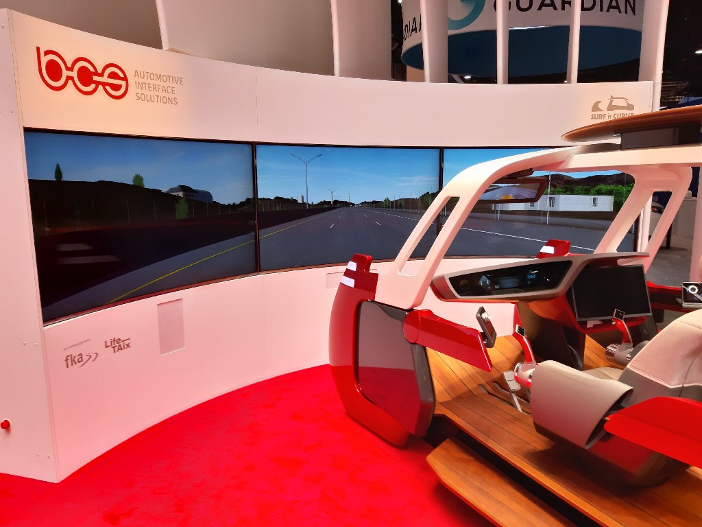 [Foto: Concept vehicle at CES 2019]