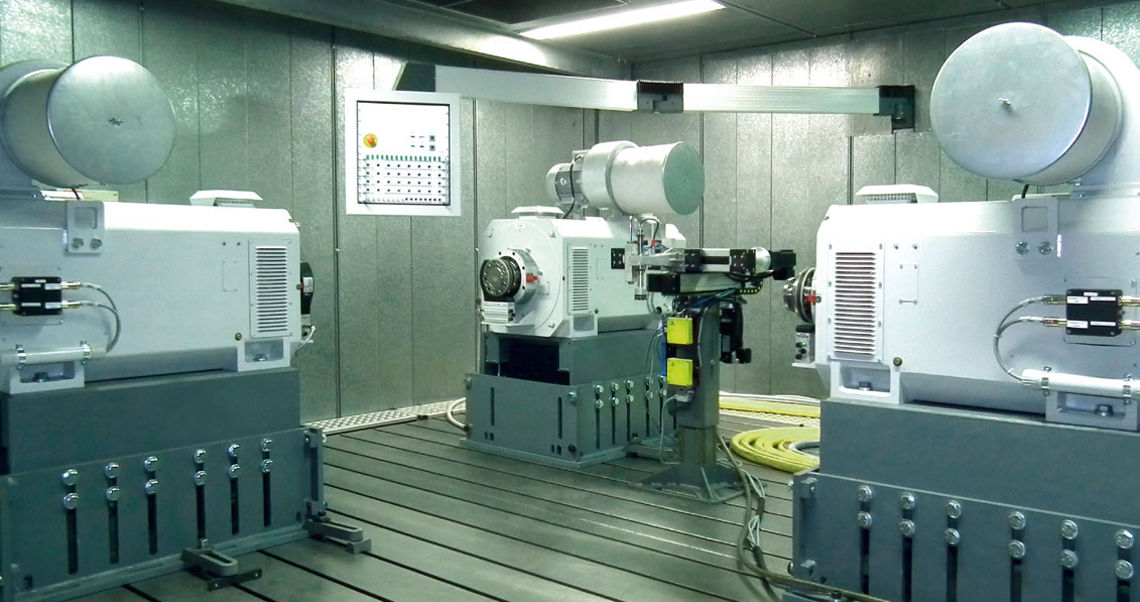 Dynamic Transmission and Axis Test Benches