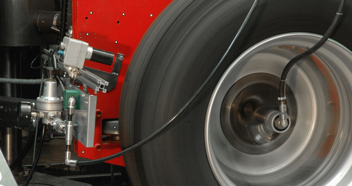 Truck Tyre Test Rig